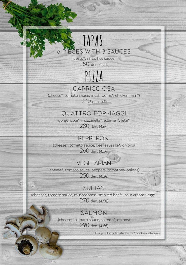 Tapas & Pizza