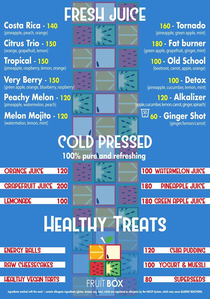 Fresh Juice & Healthy Treats